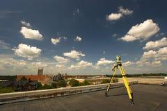 rooftopgranskning arkivfoton