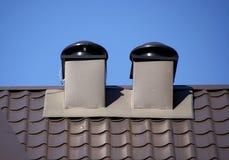 rooftoplufthål Arkivbilder