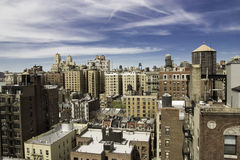 Rooftops. Of Upper West Side of Manhattan, New York Stock Photo