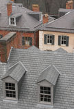 Rooftops. Of Harper's Ferry, West Virginia Royalty Free Stock Photo