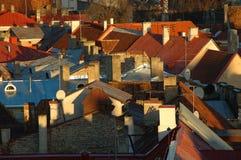 rooftops Royaltyfri Bild