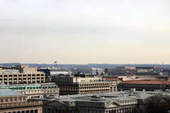 Rooftops. Of buildings in downtown Washington DC stock photography