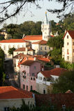 Rooftops. Of Sintra, Portugal Stock Photo