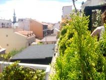 rooftops fotos de stock