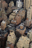 Rooftops. Manhattan Rooftops royalty free stock photo