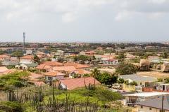 Rooftops on Aruba Stock Image