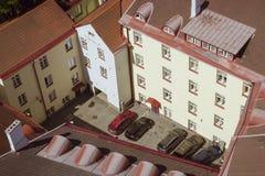 Rooftops av Tallinn Arkivfoton