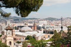 Rooftops of Barcelona Stock Photos