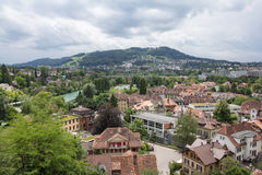 Rooftops of Bern Stock Photos