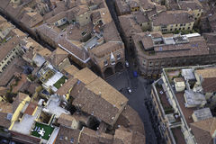Rooftops of Bologna Royalty Free Stock Photos