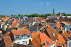 Rooftops in Bruges Stock Photography