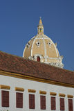 Rooftops of Cartagena de Indias in Colombia Royalty Free Stock Photography