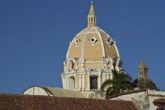 Rooftops of Cartagena de Indias in Colombia Stock Image
