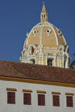 Rooftops of Cartagena de Indias in Colombia Stock Photography