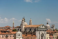 Rooftops and Church Domes Royalty Free Stock Image