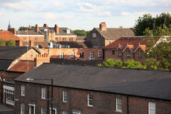 The rooftops of the city of York, England Royalty Free Stock Images
