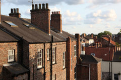 The rooftops of the city of York, England Royalty Free Stock Image
