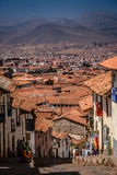 Rooftops of Cusco Stock Images
