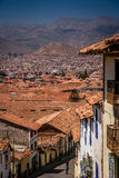 Rooftops of Cusco Royalty Free Stock Photo