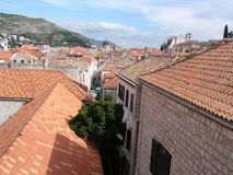 Rooftops (Dubrovnik) stock photos
