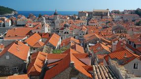 The rooftops of Dubrovnik Stock Image