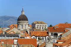 Rooftops of dubrovnik Stock Photo