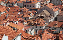 Rooftops of Dubrovnik, Croatia Stock Photos