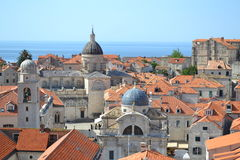 Rooftops in Dubrovnik, Croatia Royalty Free Stock Photography