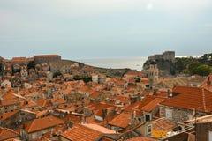 Rooftops in Dubrovnik, Croatia Stock Photography