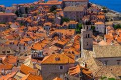 Rooftops in Dubrovnik, Croatia Royalty Free Stock Image