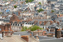Rooftops of european city. Roof tops of european city royalty free stock photography