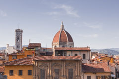 Rooftops of Florence Royalty Free Stock Photo