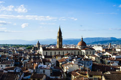 Rooftops of florence 3 Stock Images