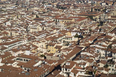 Rooftops of Florence Royalty Free Stock Photos