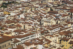 Rooftops of Florence Stock Photography