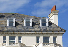 Rooftops, Folkestone, Kent, UK Royalty Free Stock Photography