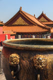 Rooftops of the forbidden city Beijing Royalty Free Stock Photos