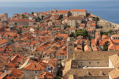 Rooftops. Franciscan Monastery. Dubrovnik. Croatia Royalty Free Stock Images