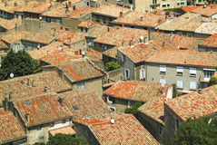 Rooftops in a French town Royalty Free Stock Photography