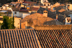 Rooftops Royalty Free Stock Photography