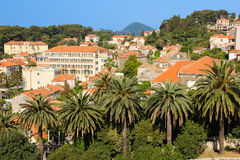 Rooftops. General view of the town. Dubrovnik. Croatia Stock Image