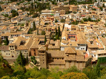 Rooftops of Granada. Andalousia, Spain Stock Photos