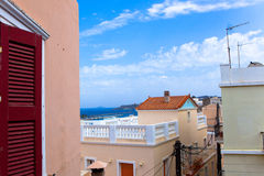 Rooftops of Greece Stock Photography