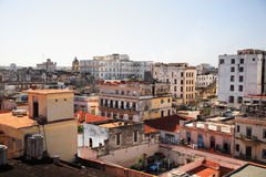 Rooftops of Havana Cuba Royalty Free Stock Image