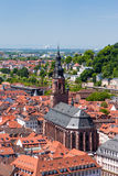 Rooftops of Heidelberg old town, Baden-Wurttemberg, Germany Royalty Free Stock Image