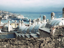 Rooftops of Istanbul Stock Images