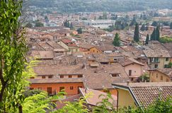 Rooftops in Italian town Stock Photos