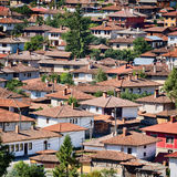 Rooftops of Koprivshtitsa, Bulgaria Royalty Free Stock Photos