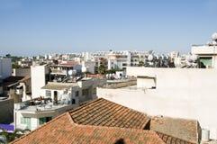 Rooftops of Larnaca Cyprus Stock Image