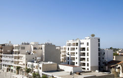 Rooftops of Larnaca Cyprus Royalty Free Stock Photo